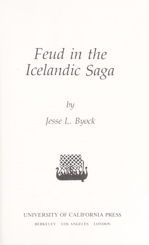 Image for Feud in the Icelandic Saga