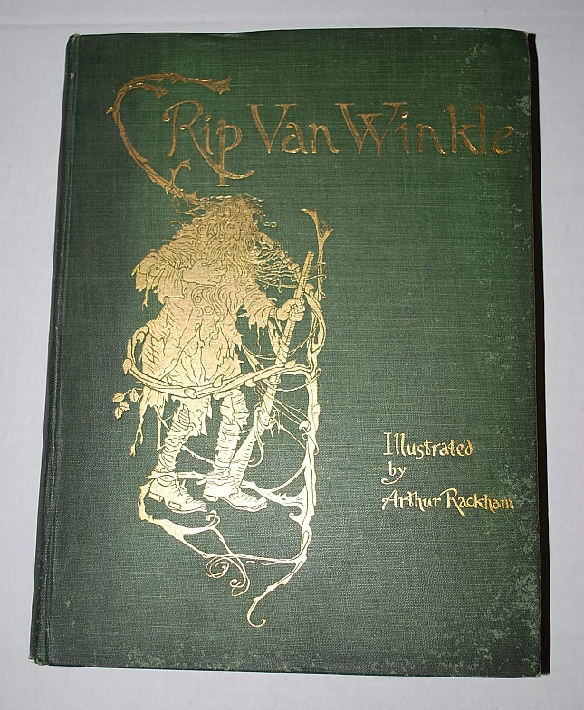 Image for Rip Van Winkle by Washington Irving With Drawings by Arthur Rackham