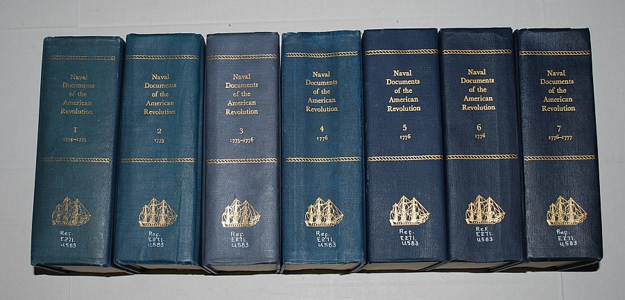 Naval Documents Of The American Revolution, 1775-1777, SET - Volumes 1-7