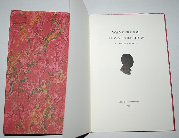 Image for Wanderings in Walpoleshire (Poems)