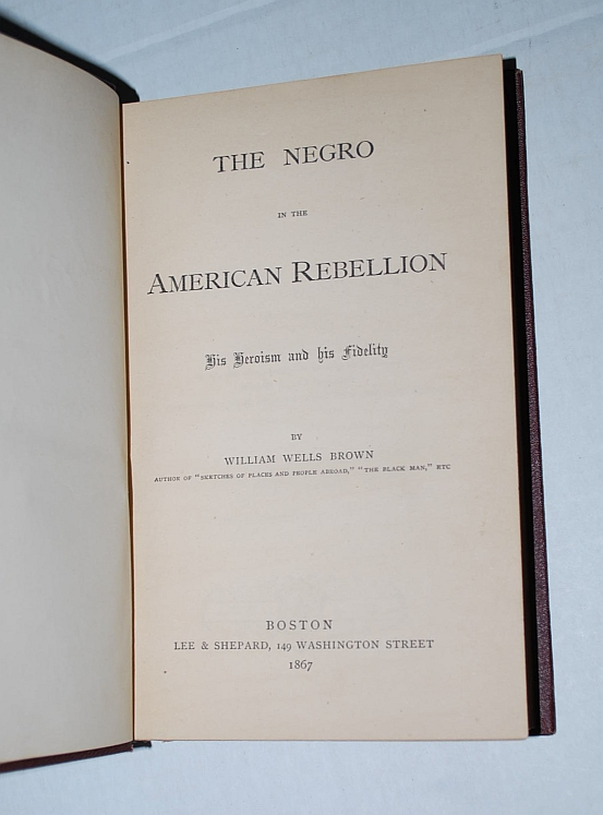 Image for The Negro in the American Rebellion; His Heroism and His Fidelity