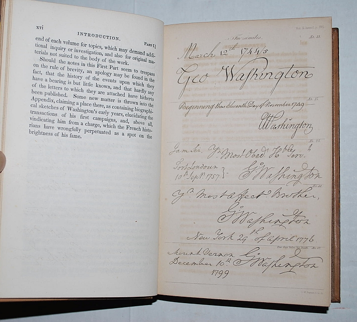 Image for The Writings of George Washington; Being His Correspondence Addresses, Messages, and Other Papers, Official and Private, Selected and Published From the Original Manuscripts Vol. 2 to 8