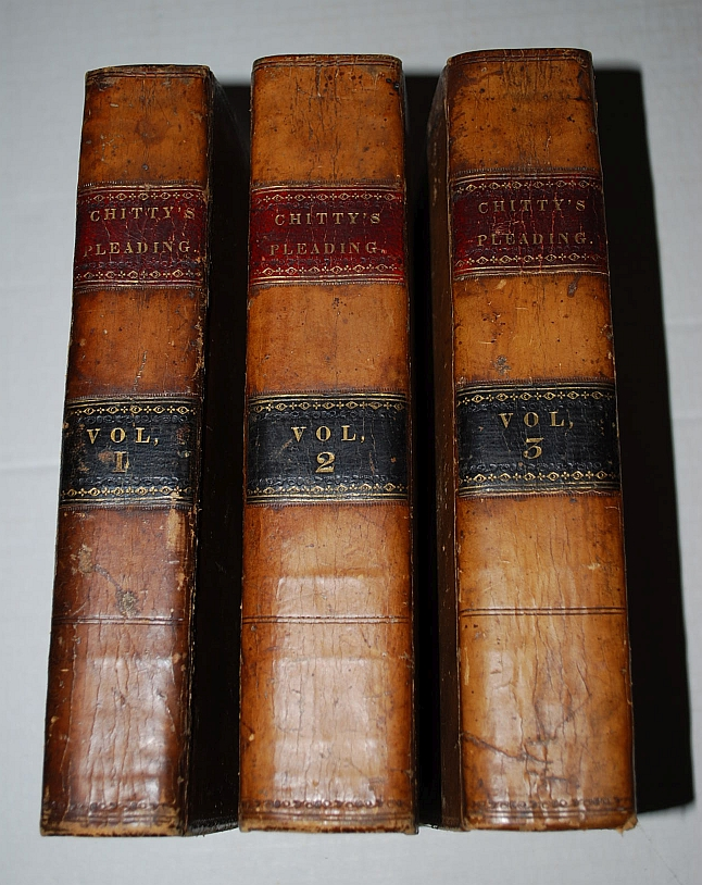 A Treatise on the Parties to Actions: The Forms of Actions, and on Pleading, with Second and Third Volumes Containing Precedents of Pleadings, in 3 Volumes