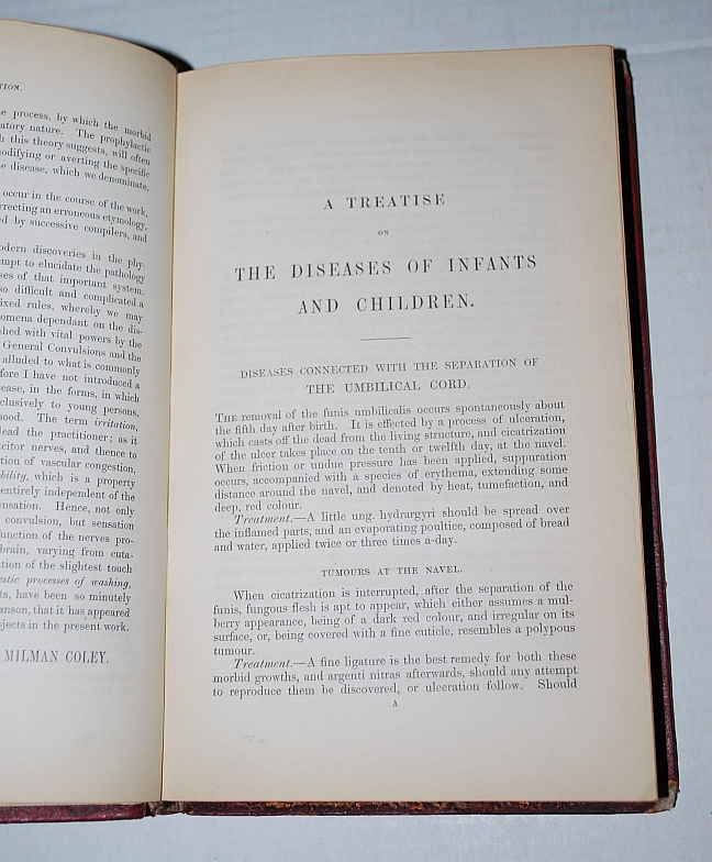 Image for A Practical Treatise on the Diseases of Children