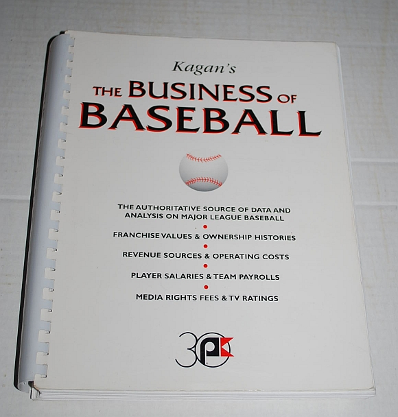 Image for Kagan's The Business of Baseball