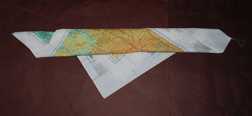 Image for Harbin NL 52 & Spassk-Dal'niy NL 53. AAF Cloth Chart. Eastern Asia Series. AMS 5301. Evasion Map Scarf