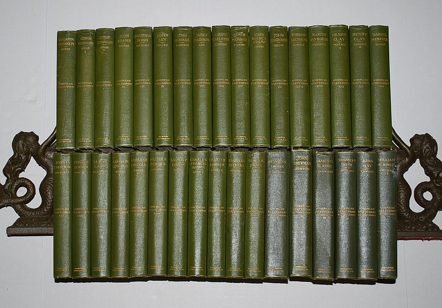 Image for American Statesmen Deluxe Edition 34 Volumes 1898-1917
