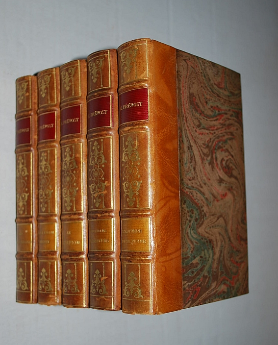 Image for Oeuvres Completes de Marcel Prevost (Novels of Marcel Prevost) 32 Volumes French Edition