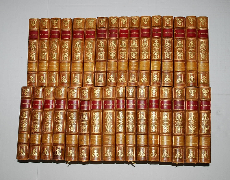 Oeuvres Completes de Marcel Prevost (Novels of Marcel Prevost) 32 Volumes French Edition