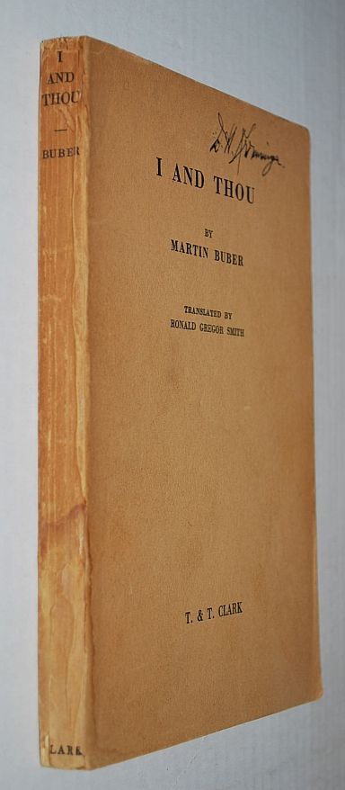 Image for I and Thou 1st English Language Edition 1937