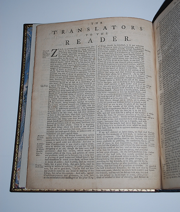 Image for The Holy Bible 1769, Containing the Old and New Testaments: Translated Out of the Original Tongues: And With the Former Translations Diligently Compared and Revised, By His Majesty's Special Command