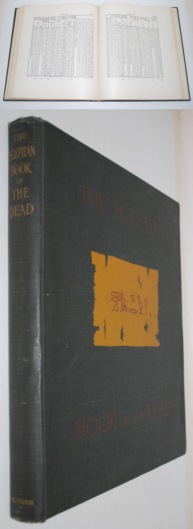 Image for The Egyptian Book of the Dead. A Complete Translation and Various Chapters on Its History, Symbolism Etc.
