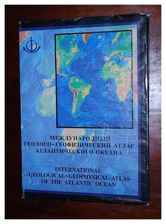 Image for International geological-geophysical atlas of the Atlantic Ocean =: Mezhdunarodnyi geologo-geofizcheskii atlas Atlanticheskogo Okeana