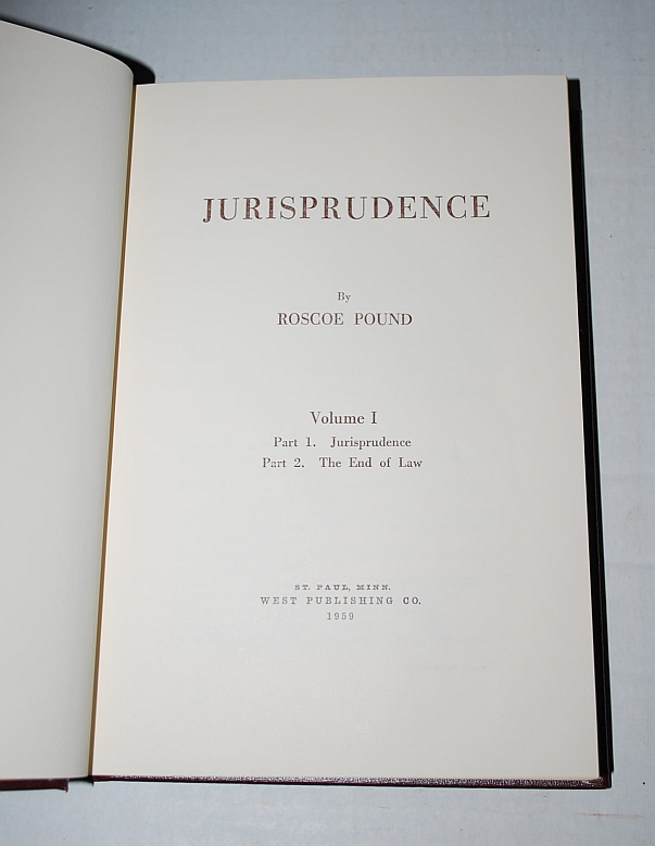 Image for Jurisprudence - Five (5) Volume Set