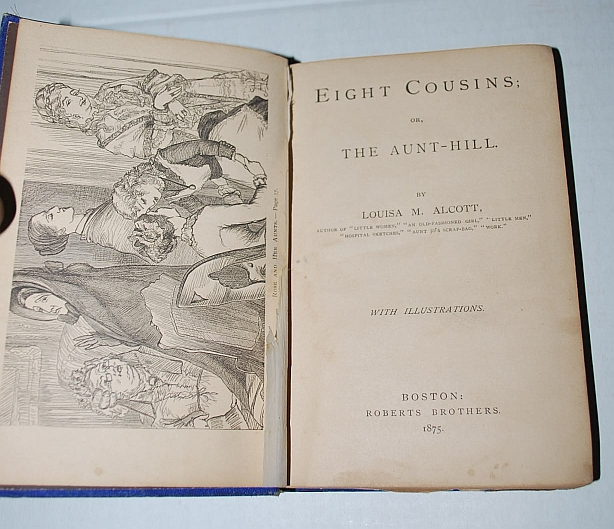 Image for Eight Cousins; or, the Aunt-Hill