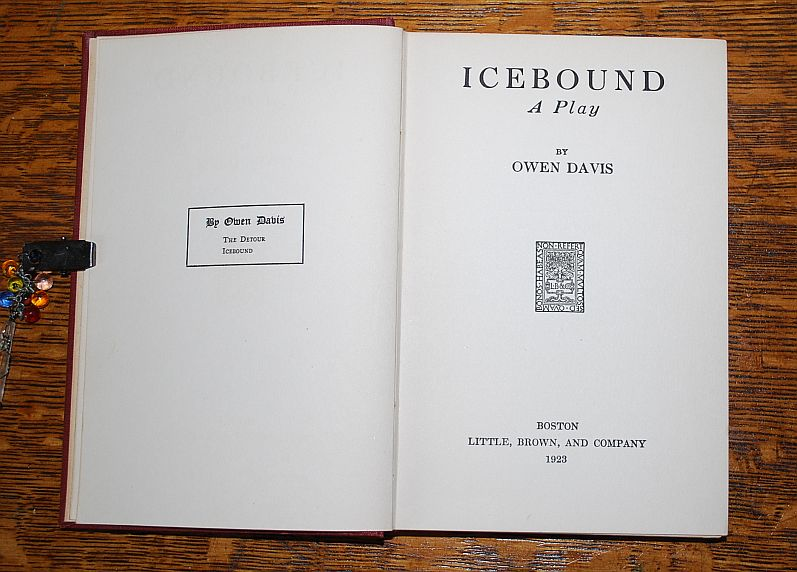 Image for Icebound:  A Play