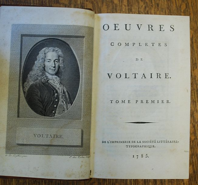 Image for Oeuvres Completes de Voltaire 69 of 70 Volumes