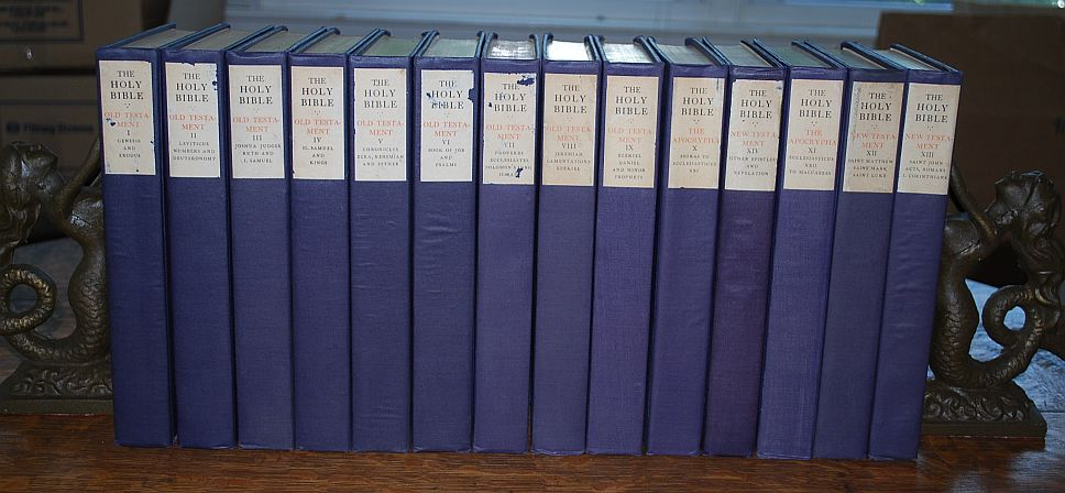 Image for The Holy Bible: Containing the Old and New Testaments and the Apocrypha 14 Volumes